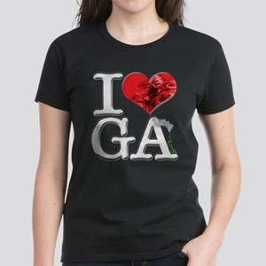 I Love GA-nja Women's Dark T-Shirt