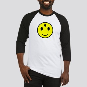 Enlightened Smiley Face Baseball Jersey