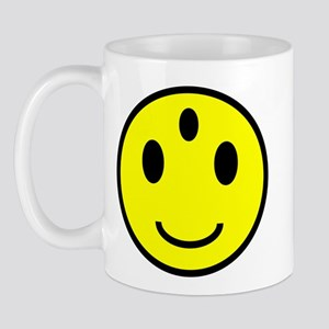 Enlightened Smiley Face Mug