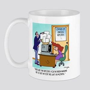 Office of Endless Reports Mug