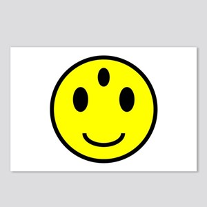 Enlightened Smiley Face Postcards (Package of 8)