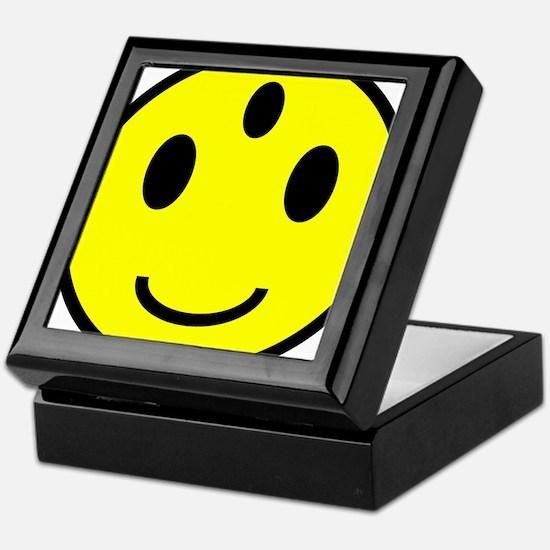 Enlightened Smiley Face Keepsake Box