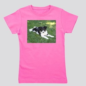 Border Collie puppy Girl's Tee