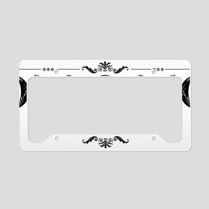 MoonPhases-BLK License Plate Holder