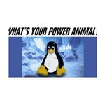 linuxslide-flat Wall Decal