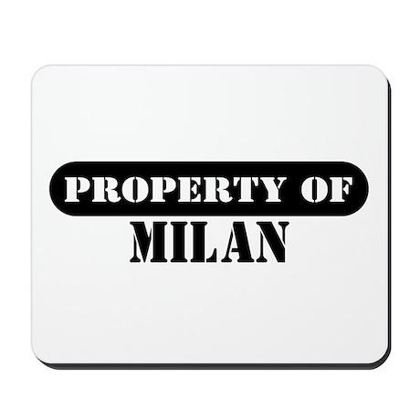 Property of Milan Mousepad
