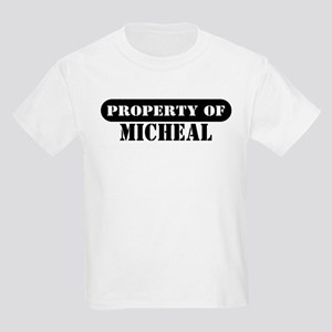 Property of Micheal Kids T-Shirt