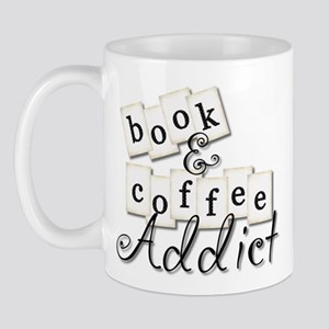 Book and Coffee Addict Mug