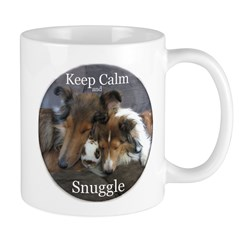 Keep Calm and Snuggle Mug