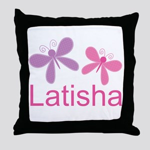 Personalized World's Best butterfly Throw Pillow