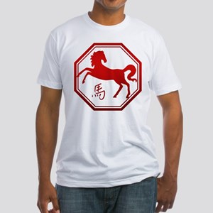 Year of The Horse Fitted T-Shirt