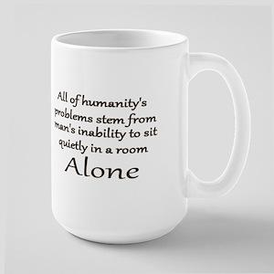 Blaise Pascal Quiet Quote Mug