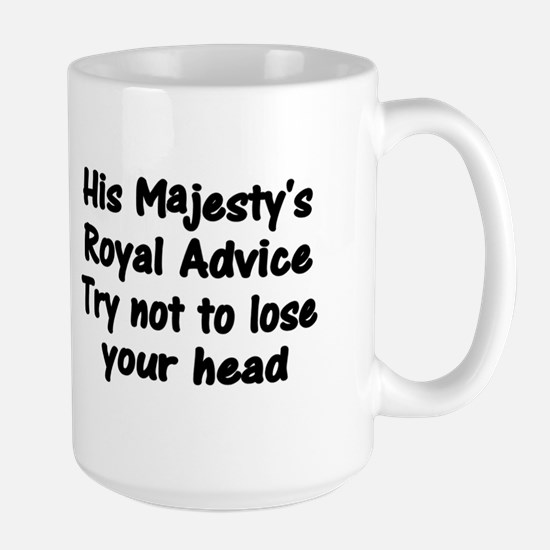 Henry VIII Advice Large Mug