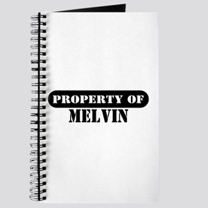 Property of Melvin Journal