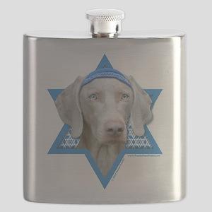 Hanukkah Star of David - Weimie Flask