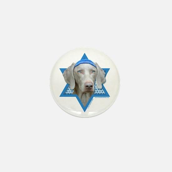 Hanukkah Star of David - Weimie Mini Button