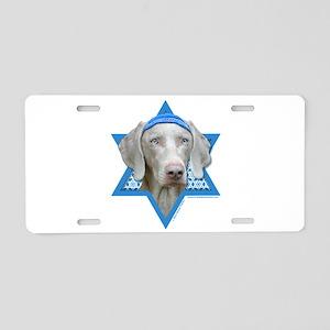 Hanukkah Star of David - Weimie Aluminum License P