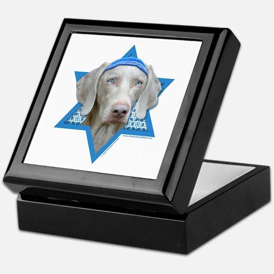 Hanukkah Star of David - Weimie Keepsake Box