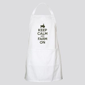 Camouflage Keep Calm and Farm On Apron