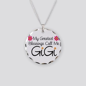 Blessings GiGi Necklace Circle Charm
