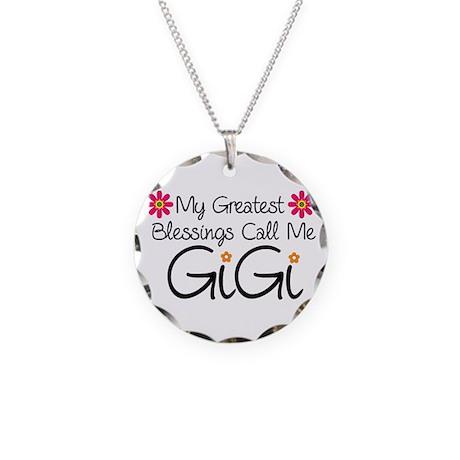 Blessings GiGi Necklace Circle Charm