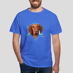 Hanukkah Star of David - Vizsla Dark T-Shirt