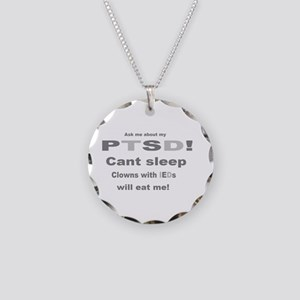 ask ptsd clown Necklace