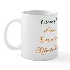 Mug: Fettuccine Alfredo Day