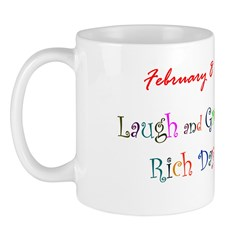 Mug: Laugh and Grow Rich Day