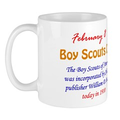 Mug: Boy Scouts Day The Boy Scouts of America was