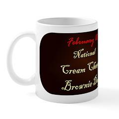 Mug: Cream Cheese Brownie Day