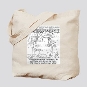Raining Data Tote Bag