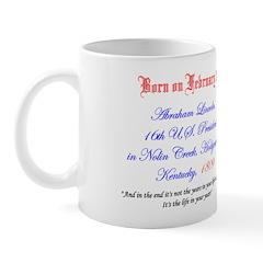 Mug: Abraham Lincoln, 16th U.S. President, in Noli