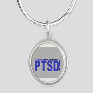 ptsd cubed Necklaces
