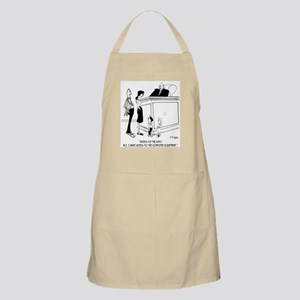 Access to the Computer, Not The Kids Apron