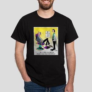 Take More Computer Breaks Dark T-Shirt