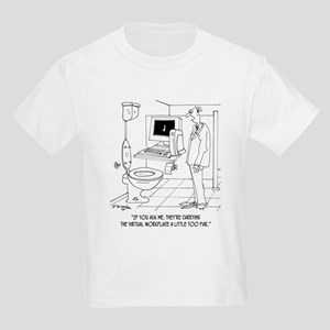 Virtual Workplace in a Bathroom Kids Light T-Shirt
