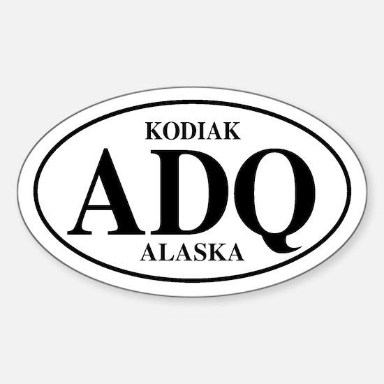 Kodiak Oval Decal
