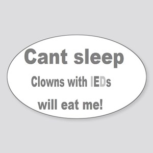 Clowns Ptsd Sticker