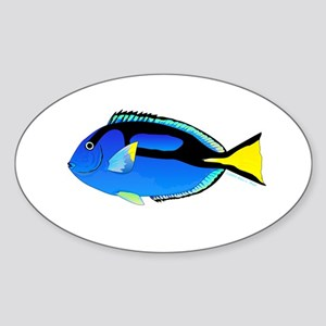 Palette Surgeonfish Regal Tang Sticker
