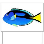 Palette Surgeonfish Regal Tang Yard Sign