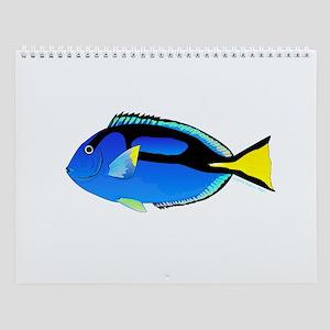 Tropical Ocean Reef Fish 4 Wall Calendar