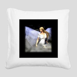 Royal Angel 3D Design Square Canvas Pillow