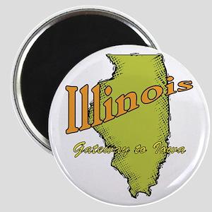 Illinois Funny Motto Magnet