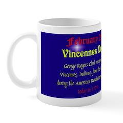 Mug: Vincennes Day George Rogers Clark recaptured