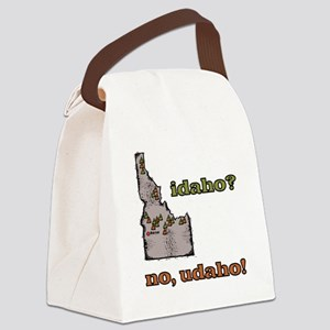 Idaho? No, Udaho! Canvas Lunch Bag
