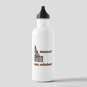 Idaho? No, Udaho! Stainless Water Bottle 1.0L