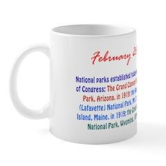 Mug: Parks established: Grand Canyon National Park
