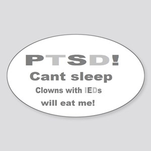 ptsd clowns ied Sticker
