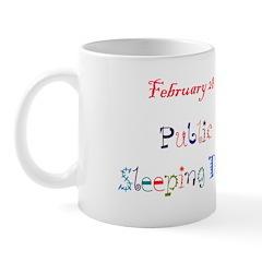 Mug: Public Sleeping Day